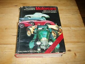 Book - The Complete Encyclopedia of Motorcars-1885-1968.
