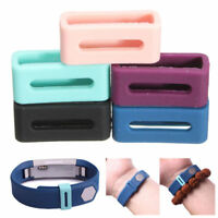 Luxury Silicone Security Band Clasp Ring Loop Fastener For Fitbit ALTA z5