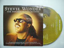 STEVIE WONDER-''THE DEFINITIVE COLLECTION''. 2 ONLY DIFFERENT SPANISH PROMO CD'S