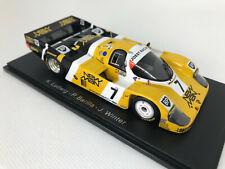 1/43 Porsche 956 #7 Ludwig/Barilla/Winter Sieger 24h Le Mans 1985 SPARK 43LM85 !