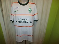 "Werder Bremen Nike Auswärts Trikot 2009/10 ""SO GEHT BANK HEUTE"" Gr.XXL Neu"