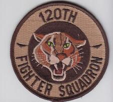 PATCH USAF F-16 120th FS COLORADO COUGARS DESERT    PARCHE