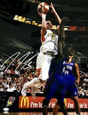 Diana Taurasi Phoenix Mercury Signed 16x20 Photo JSA T40158