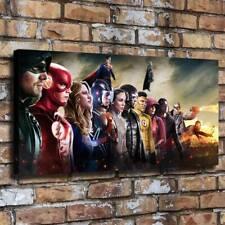 Superheroes Dc Tv Crossover Arrow The Flash Paintings HD Print Canvas Wall Art