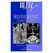 Blitz Sterling Silvershine Silver Polishing & Cleaning Care Cloth