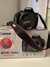 Canon 1200D mai utilizzata.
