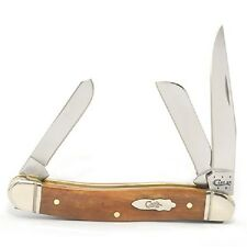 CASE XX KNIVES NEW SMOOTH ANTIQUE BONE MEDIUM STOCKMAN KNIFE 58185