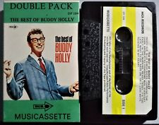 The Best Of Buddy Holly. 1966 Cassette Double Pack MCA  DP-104 Rock & Roll