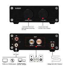 2Piece Subwoofer Power Amplifier Hi-Fi Stereo Digital Audio Amplif 600W
