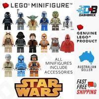 Genuine LEGO® Minifigure - STAR WARS Themed Minifigure - Includes Accessories