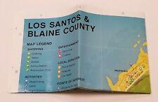 GTA V Los Santos Map ONLY!! (PLAYSTATION 4) *NO GAME*