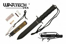 """Survival Knife - Wartech Ultimate Combat Tactical Fixed Blade 11"""" Survival Knife"""