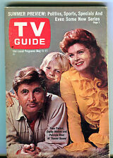 TV Guide Magazine May 11-17 1968 Fess Parker Daniel Boone VG 050916jhe