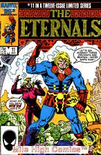 ETERNALS (1985 Series)  (MARVEL LIMITED SERIES) #11 Near Mint Comics Book