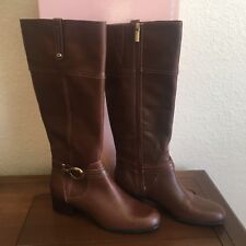 Bandolino Carly Boot Brown Leather 9M