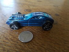 Vintage Diecast HOT WHEELS OVERBORED 454T Malaysia HOT ROD Car