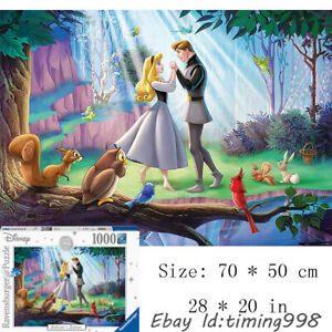 Fairy Tale Ravensburger Sleeping Beauty 1000 Piece Kids Puzzles Gift New Toys