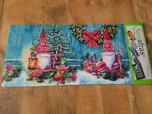 Christmas Gnomes Sassafras Switch Mat