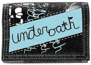 UNDEROATH Logo Nylon Black Blue Wallet Rock Official Merchandise