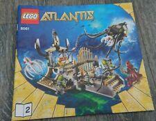 Lego Atlantis 8061 Bauanleitung Anleitung Heft 2