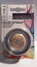 Ombre à Paupière Color Tattoo 24Hr  05 Eternal Gold Gemey Maybelline