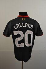 #20 LALLANA LIVERPOOL FC 2014/2015 THIRD SHIRT SIZE S CAMISETA JERSEY