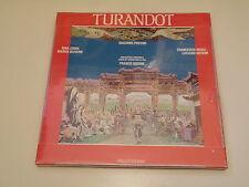 GIACOMO PUCCINI - TURANDOT - BOX 3 LP FONIT CETRA PARZ.SIGILLATO - FRANCO GHIONE