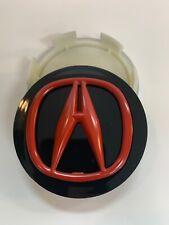 New ListingAcura Wheel Center Cap Rl Cl Tl Rdx Mdx Tsx Red-Black 69 Mm 4 Pc Like New 99.99%