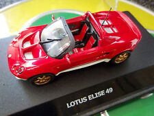 Lotus Elise 49 Maxi Car Mint Boxed Red