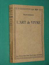 L'Art de Vivre FRANC-NOHAIN L1 NEF n° 7  E. O.