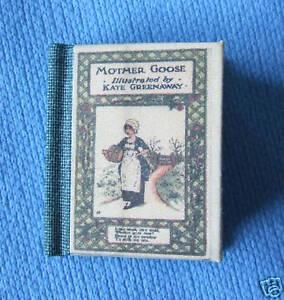 Dollshouse Miniature Book - Mother Goose