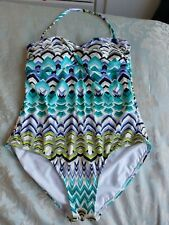 New listing WOMENS MARKS & SPENCER SWIMMING COSTUME - SIZE 16