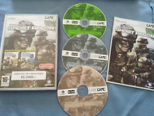GHOST RECON TOM CLANCY JUEGO PC ESPAÑOL 3 X CD-ROM CODE GAME UBISOFT RED STORM