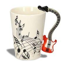 Tasse poignée guitare électrique mug musique