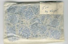 IRELAND 1922-49 CELTIC CROSS 3d...VINTAGE KILOWARE...500 stamps