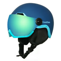 Ski Helmet with Integrated Goggles Shield Snowboard Extra-cost Night Vision Lens