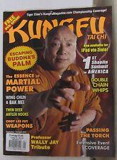 Kung Fu Tai Chi Magazine Sep/Oct 2011 Martial Arts Shaolin