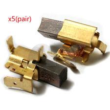 5x Carbon Brushes For Dewalt Battery 18V 12V DC212 DC925 DC926 DC930 DC940 DC98
