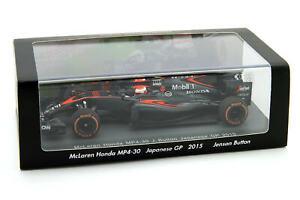 SCS157 1/43 Spark McLaren Honda MP4-30 Jenson Button Japanese Grand Prix F1 2