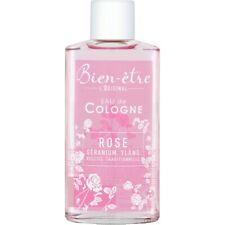 Parfum Eau de Cologne BIEN ETRE l'original Rose géranium Ylang  250mL