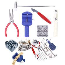 Kit de herramientas de Relojero Reloj Abrir Reparar Cambiar Pila Relojes m19