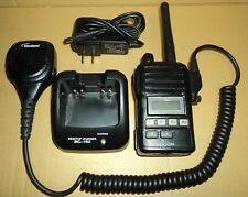 iCOM IC-F50V  VHF Radio W/ Charger Antenna Microphone Ect TESTED 100% Working!
