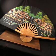 Vintage Fan Large Wall Decor Thailand Priority Mail