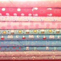 Miffy Cotton Fabric, 10 designs, per 50cm,110cm wide 100% Cotton FREE POST