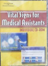 Vital Signs for Medical Assistants (PC CD-ROM) individual Thomsen Delmar NEW