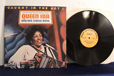 Queen Ida, Caught In The Act, GNP Crescendo Records GNPS 2181, 1985, Zydeco