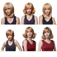 Unbranded Human Hair Medium Length Wigs