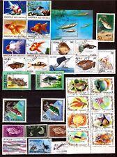 TOUS PAYS  Poissons de mer et d'aquariums PR629