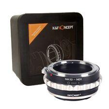 K&F Concept Nikon(G)-NEX Adapter to Nikon (G) Sony NEX / E Mount (KF06.070)