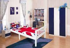 Cadres de lit et lits coffres blancs en pin pour la chambre à coucher